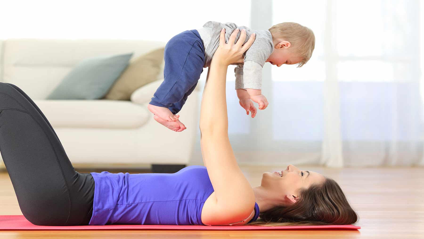 restore breasts after childbirth